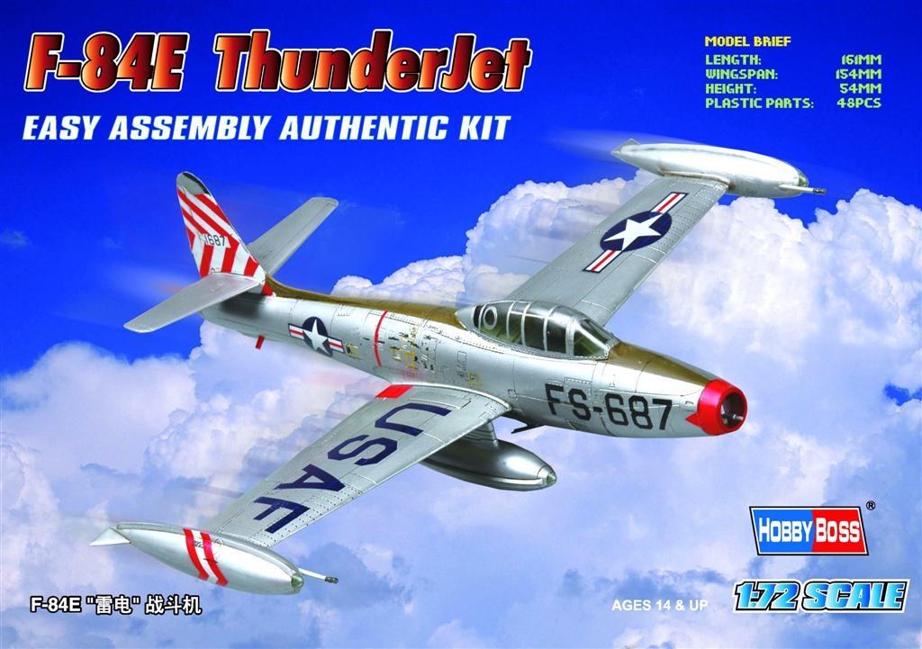 Hobby Boss 1/72 F-84E Thunderjet