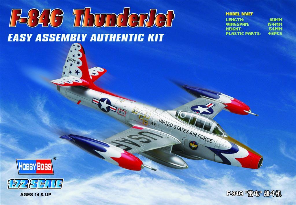Hobby Boss 1/72 F-84G ThunderJet