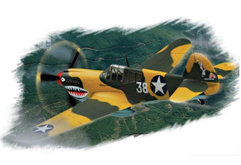 Hobby Boss 1/72 P-40E Kitty Hawk
