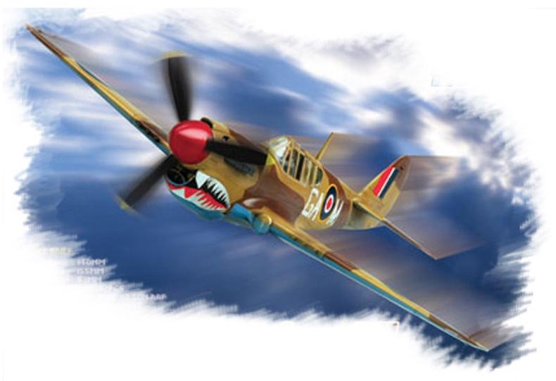 Hobby Boss 1/72 P-40M Kitty Hawk