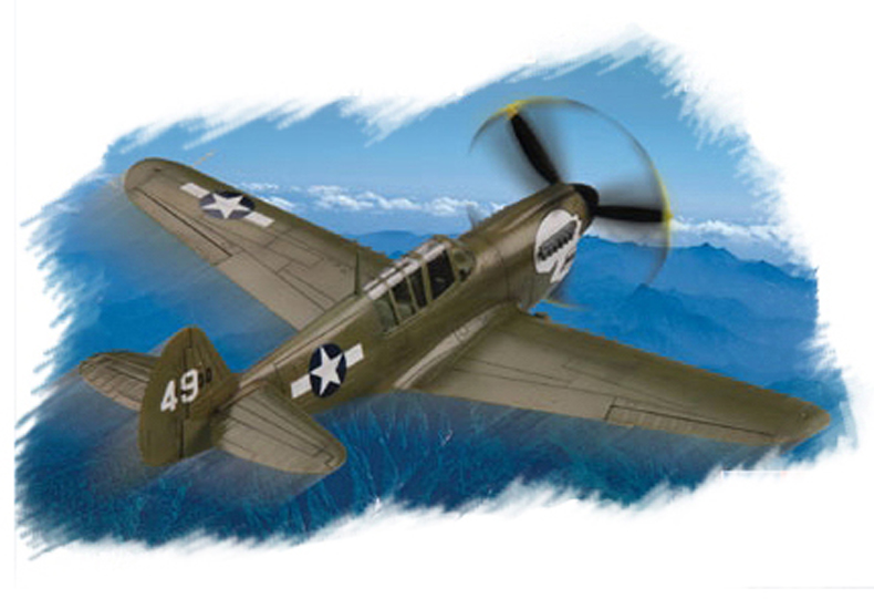 Hobby Boss 1/72 P-40N Kitty Hawk