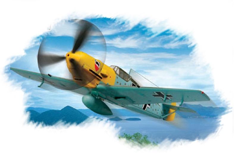 Hobby Boss 1/72 Bf 109E-3 Fighter
