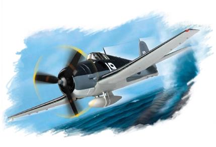 "Hobby Boss 1/72 F6F-3 ""Hellcat"""