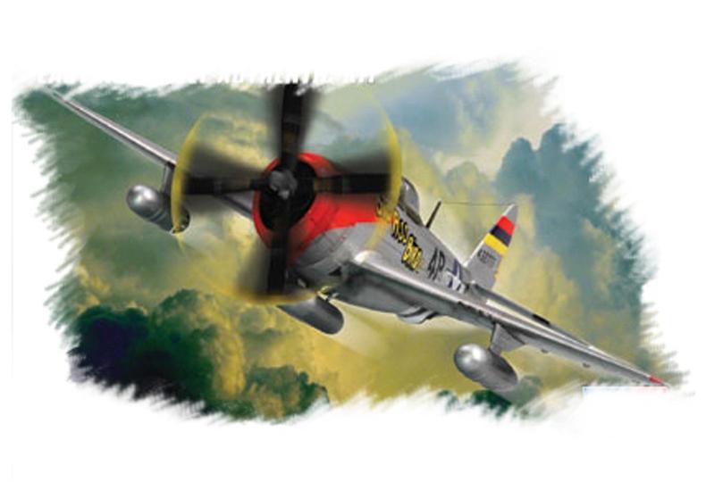 """Hobby Boss 1/72 P-47D """"Thunderbolt"""""""