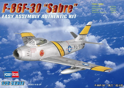 Hobby Boss 1/72 F-86F-30 Sabre Fighter