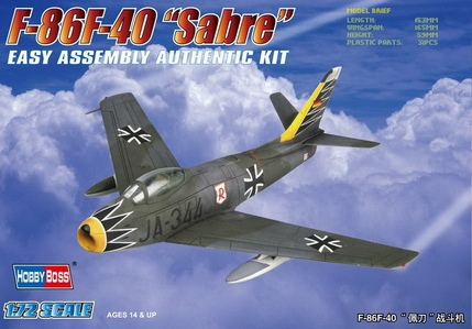 Hobby Boss 1/72 F-86F-40 Sabre Fighter