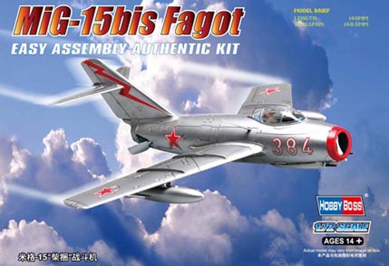 Hobby Boss 1/72 MiG-15bis Fagot