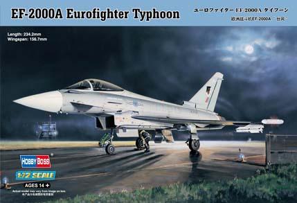 Hobby Boss 1/72 EF-2000A Eurofighter Typhoon