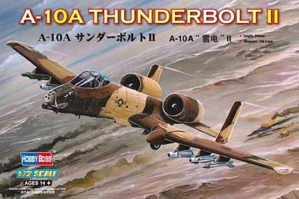 Hobby Boss 1/72 A-10A Thunderbolt II