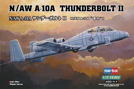Hobby Boss 1/72 N/AW A-10A Thunderbolt II