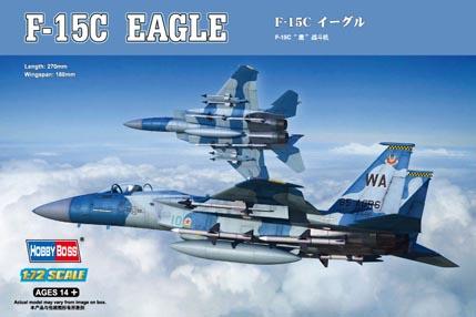 Hobby Boss 1/72 F-15C Eagle Fighter