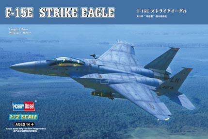 Hobby Boss 1/72 F-15E Strike Eagle Strike fighter