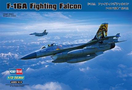 Hobby Boss 1/72 F-16A Fighting Falcon