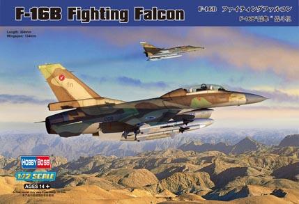 Hobby Boss 1/72 F-16B Fighting Falcon