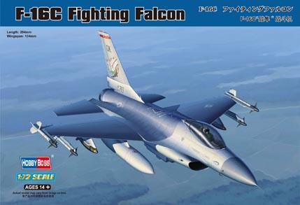 Hobby Boss 1/72 F-16C Fighting Falcon