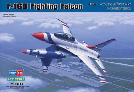 Hobby Boss 1/72 F-16D Fighting Falcon