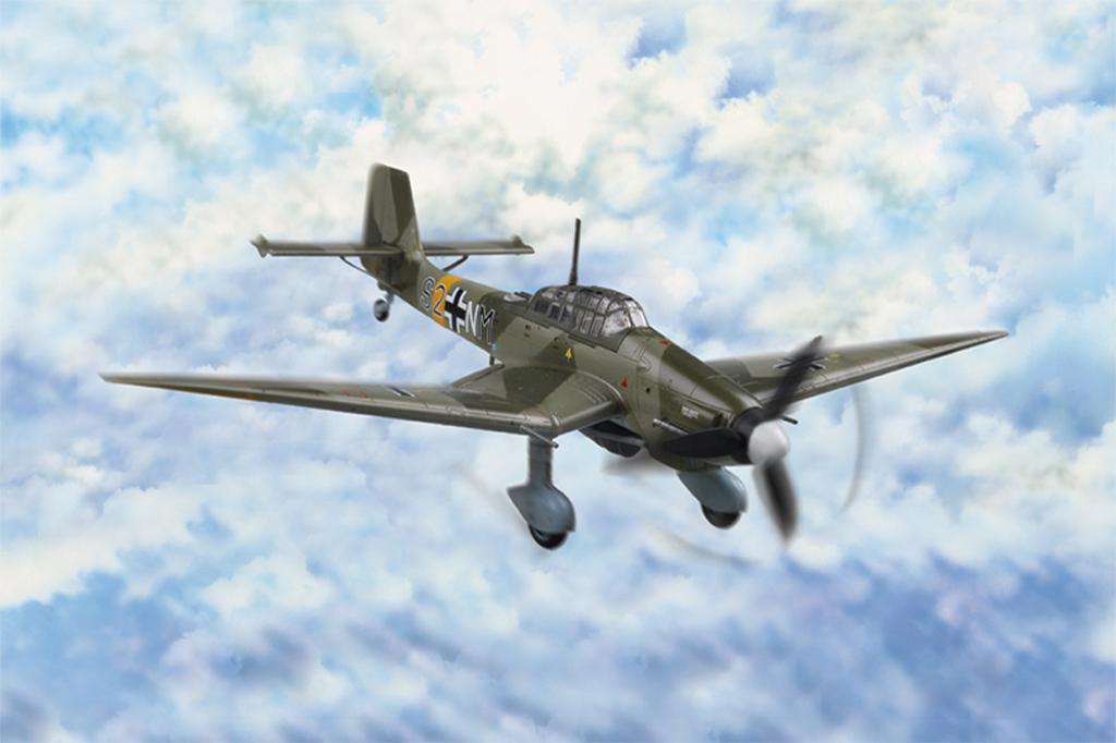 Hobby Boss 1/72 Junkers Ju-87D-3 Stuka