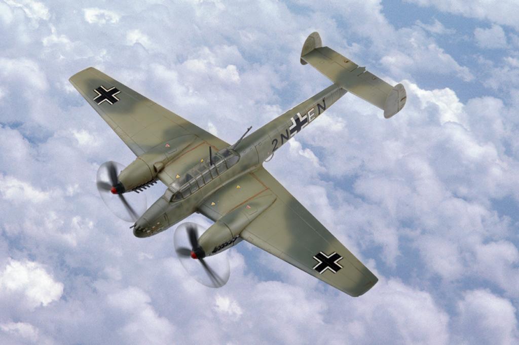 Hobby Boss 1/72 Messerschmitt Bf 110 Fighter