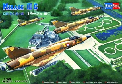 Hobby Boss 1/48 Mirage IIIC Fighter