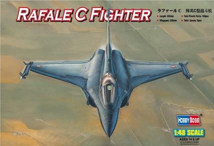 Hobby Boss 1/48 Dassault France Rafale C Fighter