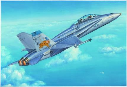 Hobby Boss 1/48 F/A -18D Hornet
