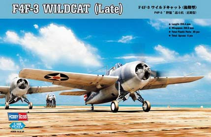 Hobby Boss F4F-3 Wildcat (Late)