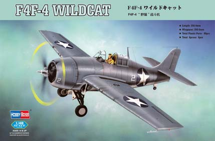Hobby Boss F4F-4 ?Wildcat? Fighter