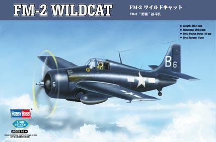 Hobby Boss 1/48 FM-2 Wildcat