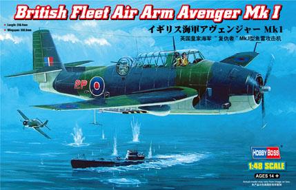 Hobby Boss 1/48 British Fleet Air Arm Avenger Mk 1