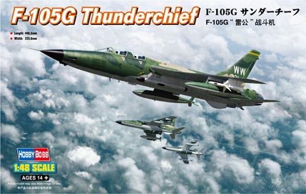 Hobby Boss F-105G Thunderchief