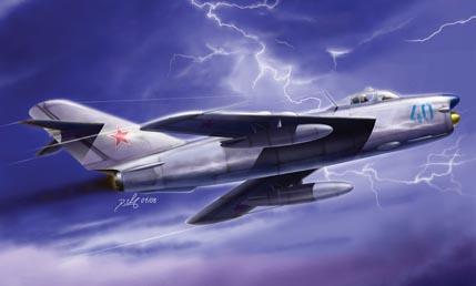 Hobby Boss 1/48 MiG-17PF Fresco D
