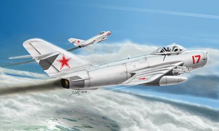 Hobby Boss MiG-17 PFU Fresco E