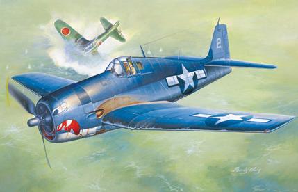 Hobby Boss 1/48 Grumman F6F-3 Hellcat Early Version