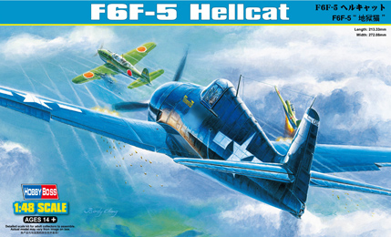 Hobby Boss 1/48 F6F-5 Hellcat