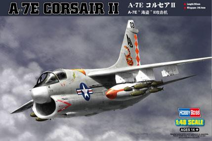 Hobby Boss 1/48 A-7E Corsair II