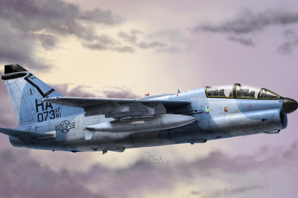 Hobby Boss 1/48 A-7K Corsair II