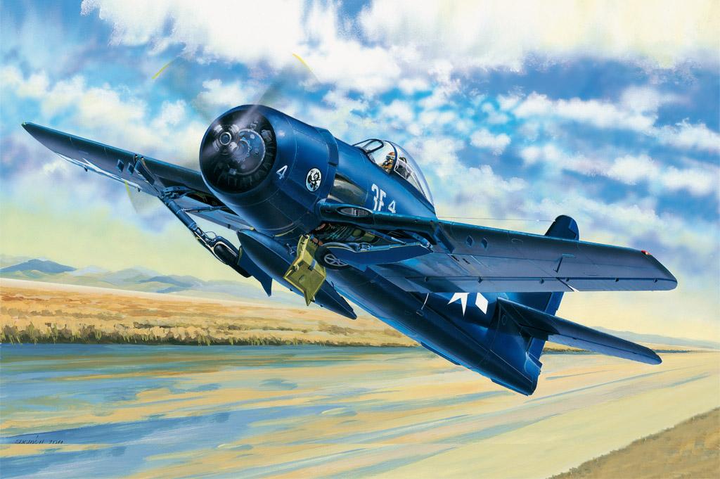 Hobby Boss 1/48 F8F-1 Bearcat