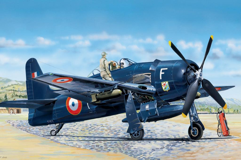 Hobby Boss 1/48 F8F-1B Bearcat