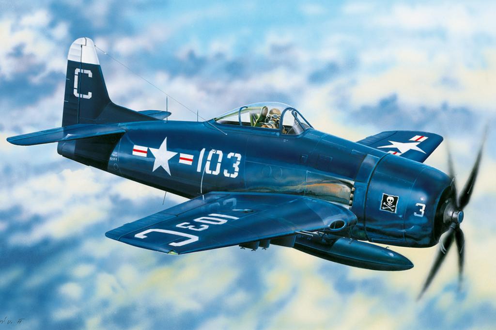 Hobby Boss 1/48 F8F-2 Bearcat