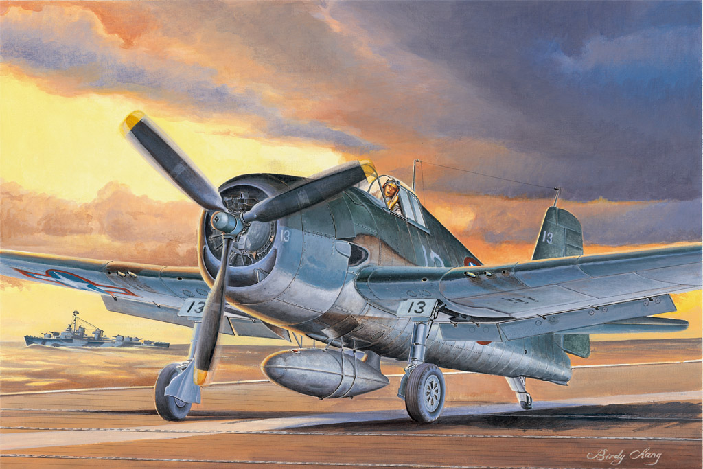 Hobby Boss 1/48 F6F-3 Hellcat Late version