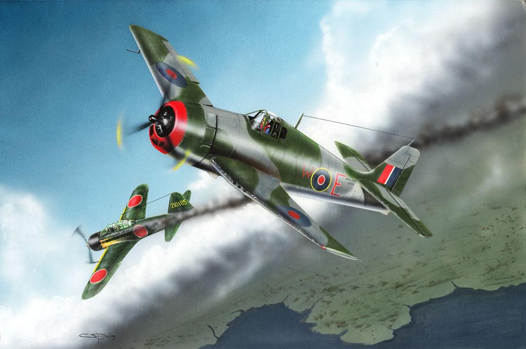 Hobby Boss 1/48 British Fleet Air Arm Hellcat Mk.I