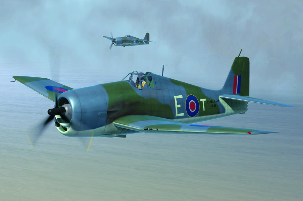 Hobby Boss 1/48 British Fleet Air Arm Hellcat Mk.II