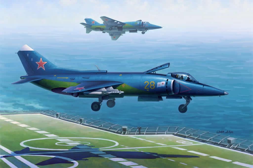 Hobby Boss 1/48 Yak-38/Yak-38M Forger A
