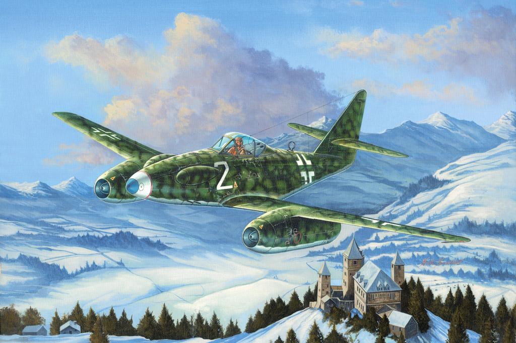 Hobby Boss 1/48 Me 262 A-1a/U3