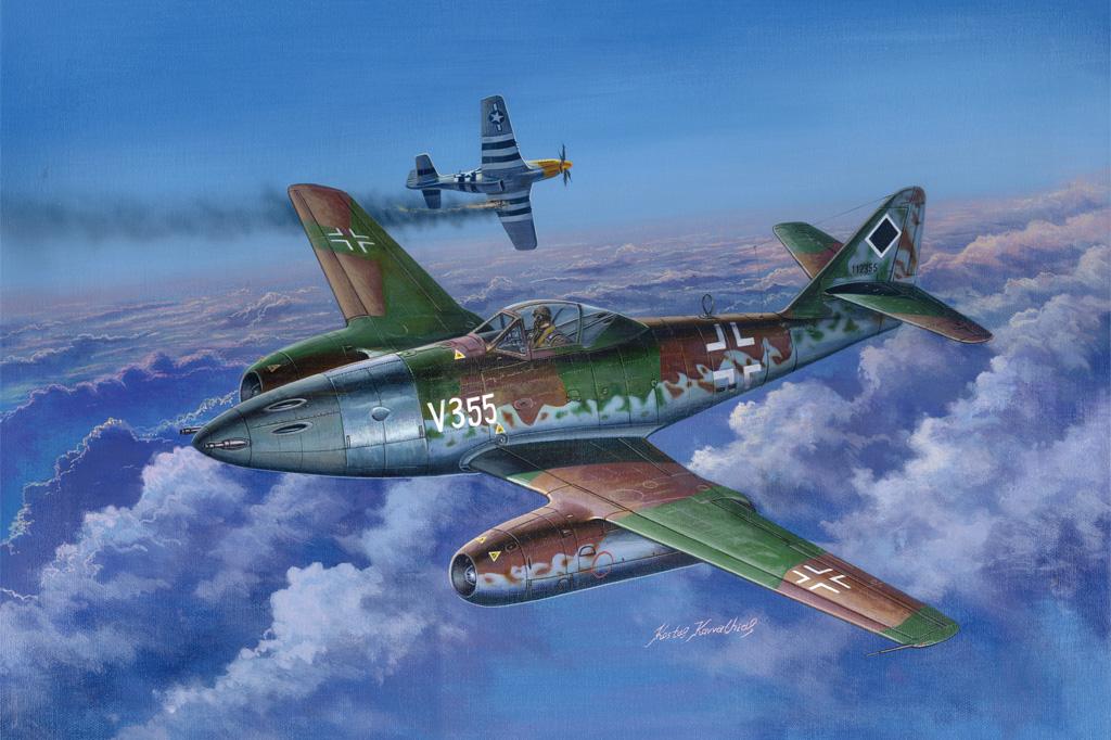 Hobby Boss 1/48 Me 262 A-1a/U5