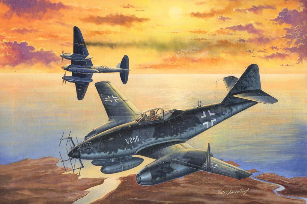 Hobby Boss 1/48 Me 262 A-1a/U2(V056)