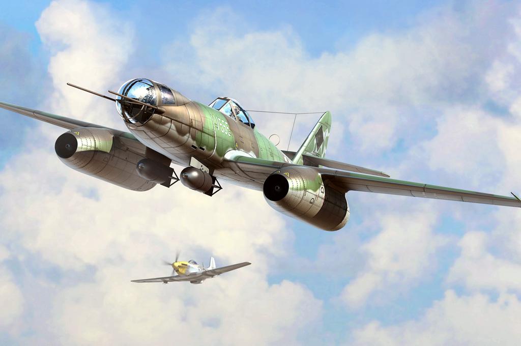 Hobby Boss 1/48 Me 262 A-2a/U2