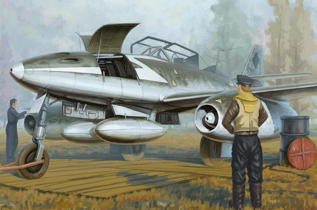 Hobby Boss 1/48 Me 262 B-1a