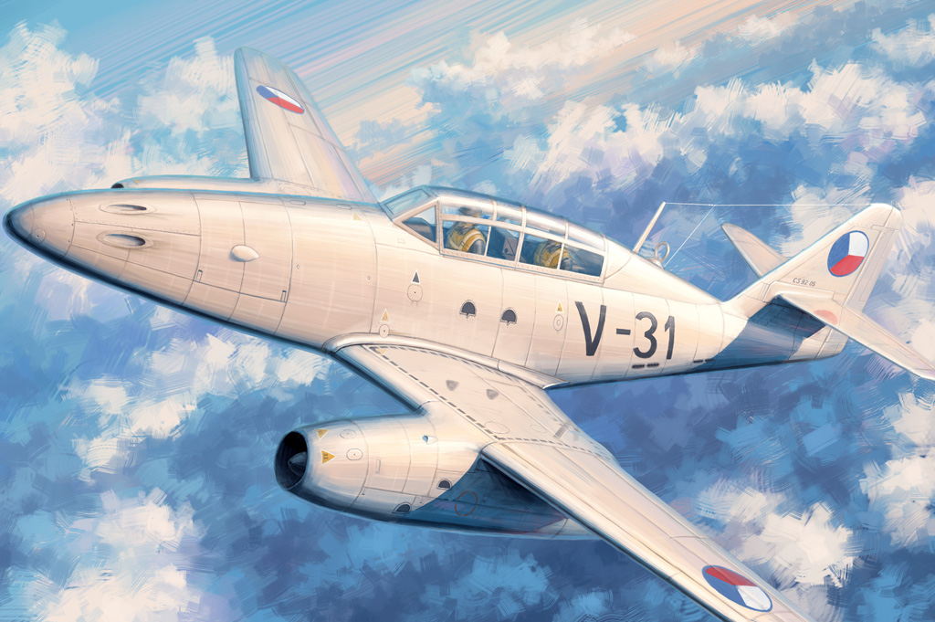 Hobby Boss 1/48 Me 262 B-1a/CS-92