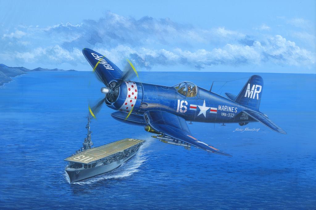 Hobby Boss 1/48 F4U-4B Corsair